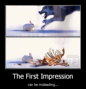 first impression pua picture