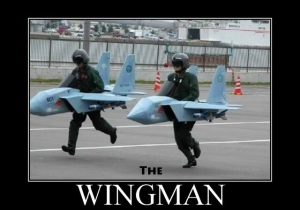 The wingman pua picture